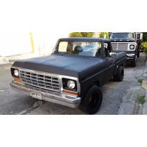 Camioneta Ford 78 Classica Negra