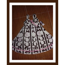 Vestido Niña #6 Exclusivo Eva Brazzi Envío Gratis D H L