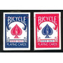 Baraja Bicycle Standard Y Rider Back Rojo/azul