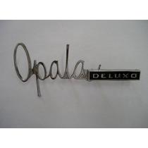 * Emblema Opala De Luxo Cromado Brasão Friso Grade Ss 4100