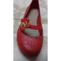Zapatillas Boaonda Para Niña Color Rojo
