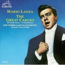 Mario Lanza The Great Caruso Cd Clasica Opera Tenor