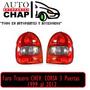 Juego Faro Trasero Chevrolet Corsa City 99 Al 2012 3 Puerta