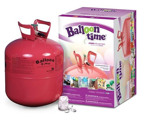 Tanque de helio ballon time jumbo desechable en - Llenar globos con helio ...