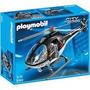 Playmobil 5563 Helicoptero Policial Unidad Especial