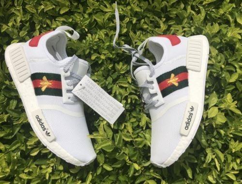 2ffd62f9b73e9 Tenis adidas Nmd Gucci Abelha 2018 - Original - R  450