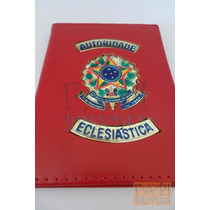 Porta Documentos Autoridade Eclesiástica Brasão Da Republica