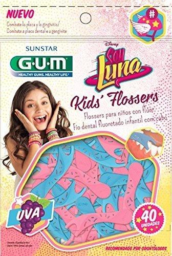 0362484c8 Gum Flossers Hilo Dental Con Fluor Soy Luna 40 Pzs -   79.00 en Mercado  Libre