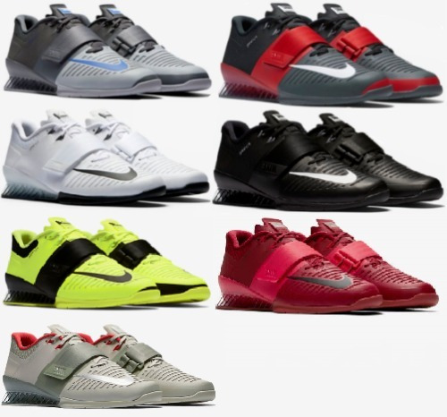 Nike Romaleos 3 Weightlifting Power Training Shoes Crossfit ... ee77df28d