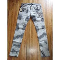Jeans Guess Premium 100% Originales Gris/negro