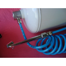 Kit Encher Pneu,compressor,cilindro,manqueira Spiral,