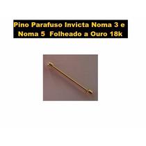 Pino Parafuso P/ Pulseira De Relógio Invicta Noma 5 Dourado