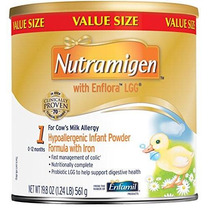 Nutramigen Con La Fórmula Enflora Lgg Bebé - 19,8 Oz Polvo P