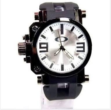 4392efb1db1f0 Relógio Oakley Gearbox Titanium - R  299