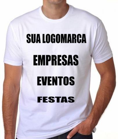 8e5bdeb22 Camisas Personalizadas Logo Empresas - Linha Uniforme - R  14