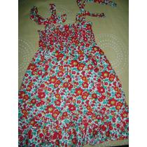 Vestido Epk Floreado (3t Ref. 1-3 Años) Solo Una Puesta!