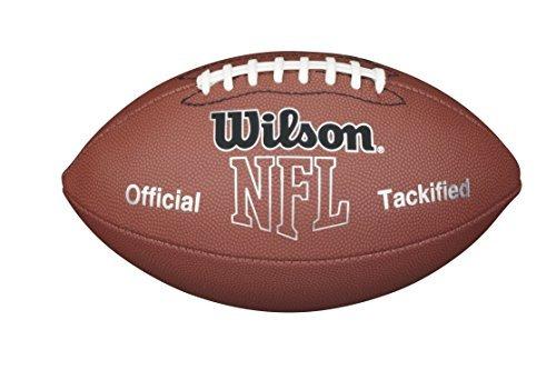 Balón De Fútbol Americano Wilson Mvp Oficial Nfl Piel Sint ... 956834dc169