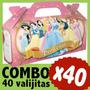 Princesas Bolsita Golosinera Souvenir Infantil Combo X 40