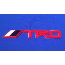 Emblema Trd Plástico Adherible