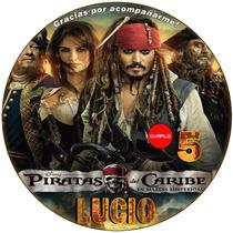 Kit Imprimible Piratas Del Caribe