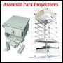 Soporte Ascensor Para Proyectores,electrico A Control Remoto