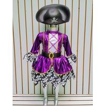 Disfraz Halloween Pirata Brujita Llorona Diablita Draculaura