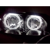 Farol Fiat Palio Siena Fire Tuning Angel Eyes Led 01 A 2003