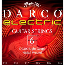 Set De Cuerdas Darco Electricas 010 Light Gauge Nickel Wound