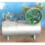Compressor De Ar 40 Pes De Alta 175 Psi Com Motor 10cv Weg