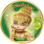 Invitaciones Tinkerbell Campanita Etiquetas Plantillas