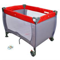Berço Compacto Vermelho Baby Style (novo C/ Garantia)