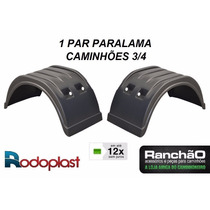 Par Paralama Implemento Caminhão 3/4 Mod Randon Plataforma