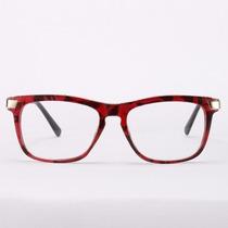 Armação Óculos De Grau Acetato Quadrado - Masculino Feminino