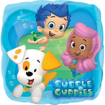 Oferta!! 10 Globos 48cm Bubble Guppies, Envío Barato