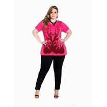 Blusa Feminina Ggg Moda Grande Casual Gordinhas