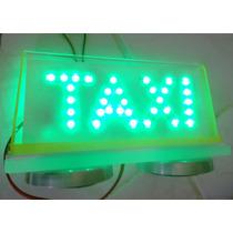 Bigorrilho Led Com Ímã - Taxi Rio De Janeiro - Luminoso Taxi