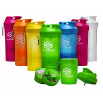 Shaker Smartshake 600 Ml Neon Suplementos Proteina Colores