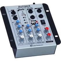 Mesa De Som Mixer Automix Ll A302r Usb Pen Drive 12 Volts