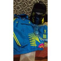 Kit Copa Do Mundo Camisas,casaco,mochila, Boné Adidas