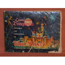Raro Y Antiguo Album Estampas Cromolandia Disneylandia, 1962