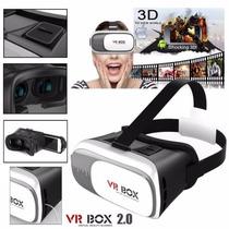 A24 Lentes De Realidad Virtual Aumentada 3d Vr Box 2.0 2016