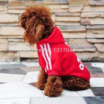 Roupa Cachorro Blusa Moleton Adidog Pet Casaco Cão Pequeno