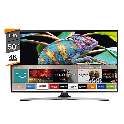 70ee36b7f Tv Led Samsung 50 Uhd 4k Mu6100 Smart Tv Netflix -   20.999