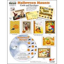Scrapsmart De Halloween Haunts Tarjetas Y Sobres De Cd-rom