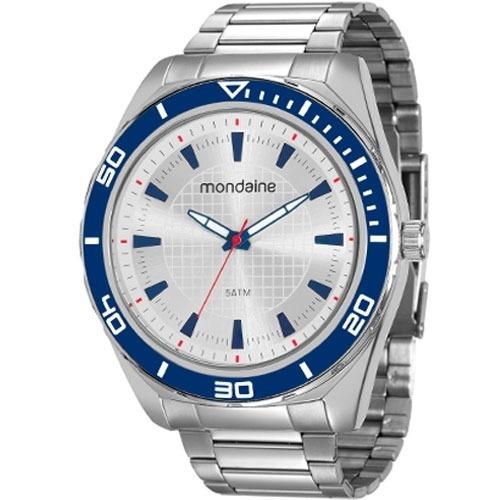 96e8f85365f Relógio Mondaine Masculino 53521g0mvne1 - R  195