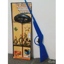 Arma Rifle Mascara Cowboy Brinquedo
