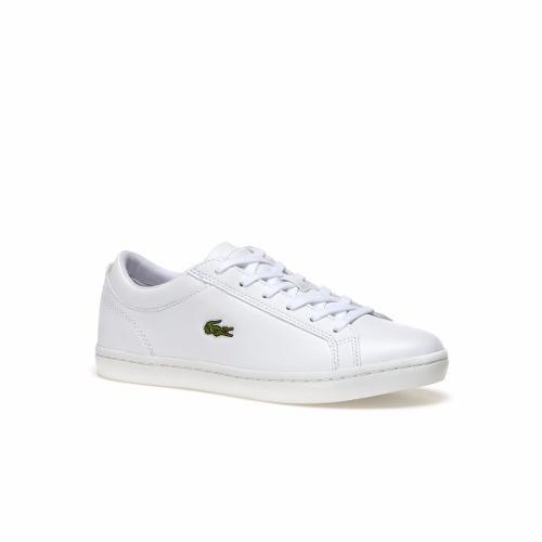 Tenis Lacoste Feminino Original Couro Branco Nf - R  450,00 em Mercado Livre 6a5e98e7a4