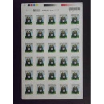 Selo Carta Comercial 1° Porte Correios 1050 Und.- 35 Fls