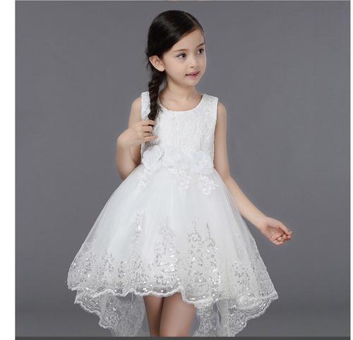 e1a84cf4f Vestido Primera Comunión Blanco Tutú Lentejuelas Lollipop -   699.00 ...