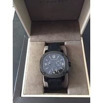 Relógio Burberry Bby1103 - Quartzo, Suiço, Couro De Jacaré